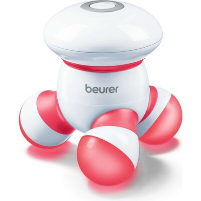 Масажор Beurer MG 16 mini massager; Vibration massage; Use for back, neck, arms and legs; LED light; red