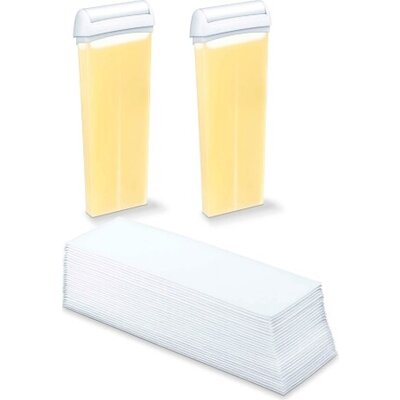 Аксесоар Beurer HL 40 Spare set: 2 x beeswax cartridges, 50 fabric strips
