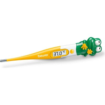 Термометър Beurer BY 11 Frog clinical thermometer, Contact-measurement technology, temperature alarm as from 37.8 C°, Display in