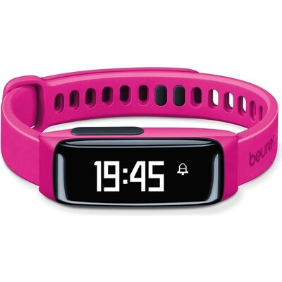 Фитнес гривна Beurer AS 81 Activity sensor pink, Bluetooth, sleep traking-analysis, memory capacity for 30 days/7 nights, alarm,