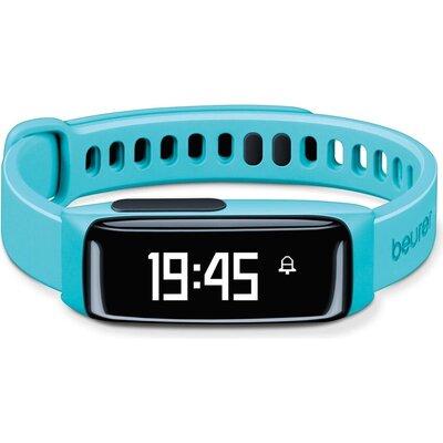 Фитнес гривна Beurer AS 81 Activity sensor turquois, Bluetooth, sleep traking-analysis, memory capacity for 30 days/7 nights, al