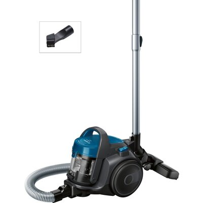 Прахосмукачка Bosch BGS05A220, Vacuum Cleaner, 700 W, Bagless type, 1.5 L, 78 dB(A), Energy efficiency class A, blue/stone gray