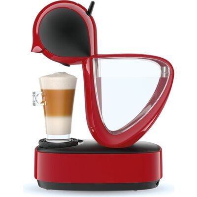 Кафемашина Krups KP170531, Dolce Gusto INFINISSIMA, Espresso machine, 1500W, 1.2l, 15 bar, red
