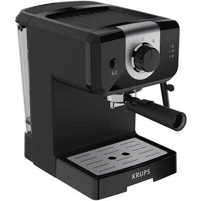 Кафемашина Krups XP320830, ESP STEAM&PUMP MECA OPIO BLK, 1050W, 15 bar
