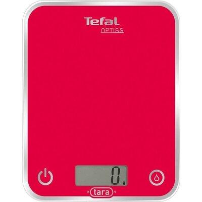 Везна Tefal BC5003V1, Optiss, Kitchen Scale, up to 5kg, Resolution 1g function Tara, Digital LCD display, Ultra slim glass, rasp