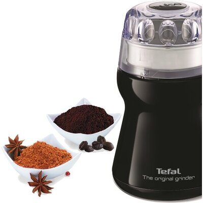 Кафемелачка Tefal GT110838, Mini-Choppers, Coffee grinder, Black