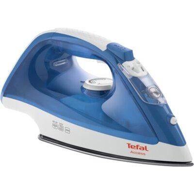 Ютия Tefal FV1511E3, Access blue, 2000W - 0-20g/min - shot 90g/min - PTFE soleplate - water tank 250 ml - XL water filling inlet