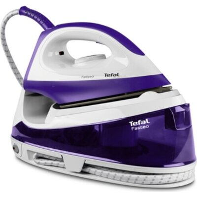 Парогенератор Tefal SV6020E0, Fasteo purple, non bioler - manual - 5 bars - 100g/min - steam boost 130g/min - anticalc cartridge