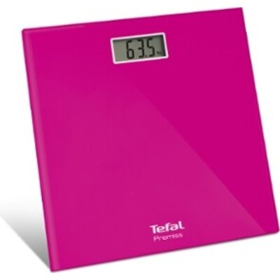 Везна Tefal PP1063V0, Premiss, Scales up to 150 kg, Resolution 100 g, Fully electronic, Large LCD display, Pink