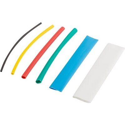 Термосвиваема кабелна връзка Lanberg 100pcs heat-shrinkable tubing kit, multicolor box