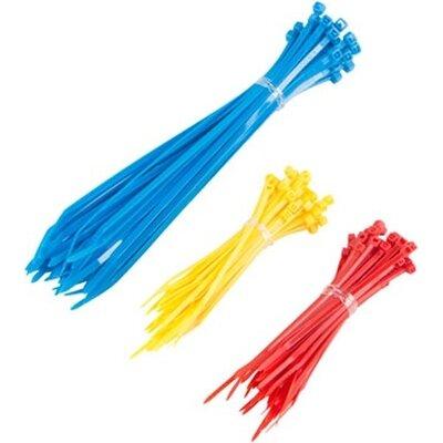 Кабелна връзка Lanberg cable tie set 150pcs 3 colors