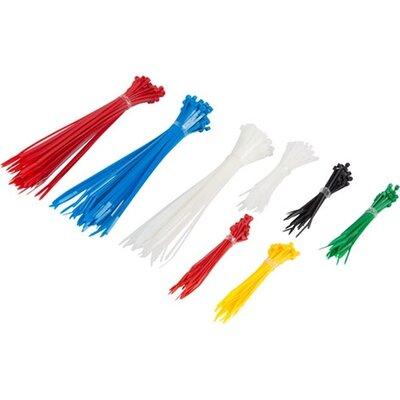 Кабелна връзка Lanberg cable tie set 300pcs 6 colors
