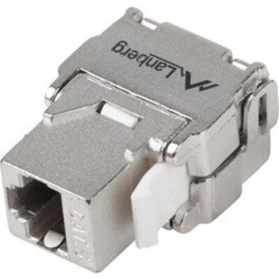 Конектор Lanberg keystone toolless module RJ45 180° FTP CAT.6