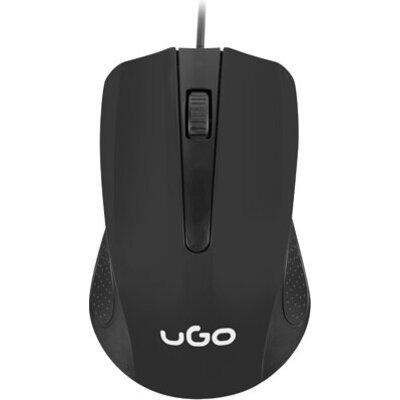 Мишка uGo Mouse UMY-1213 optical 1200DPI, Black