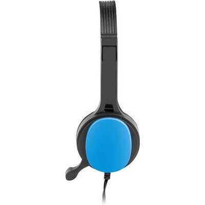 Слушалки uGo Headset USL-1221 + microphone, Blue