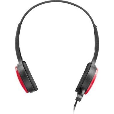 Слушалки uGo Headset USL-1222 + microphone, Red