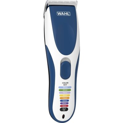 Машинка за подстригване Wahl 09649-016, ColorPro, Cordless Clipper 10 colored guide combs, rinseable blade, storage pouch and ac
