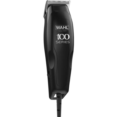 Машинка за подстригване Wahl 1395.046, HomePro 100, Corded Clipper, 12 piece haircutting kit, 8 guide combs, storage pouch and a