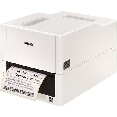 Етикетен принтер Citizen Label Desktop printer CL-E321 Thermal Transfer+Direct Print Speed 200mm/s, Print Width(max.)4