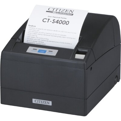POS принтер Citizen POS printer CT-S4000 Direct thermal Print Speed 150mm/s, Print Widht 104mm/Media Width (min-max)80/82.5/112