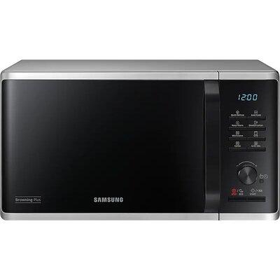 Микровълнова печка Samsung MG23K3515AS/OL, Microwave, 23l, Grill, 800W, LED Display, Silver