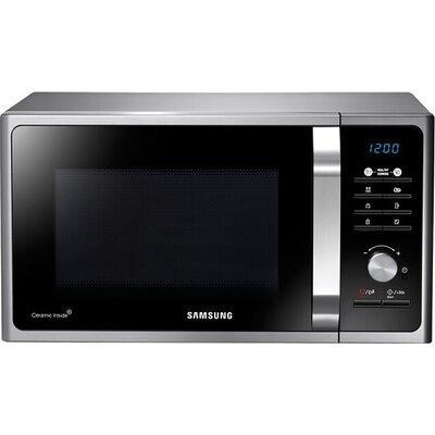 Микровълнова печка Samsung MS23F301TAS, Microwave, 23l, 800W, LED Display, Black/Silver