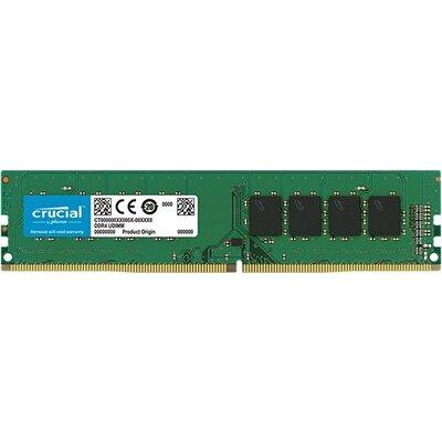 Crucial DRAM 4GB DDR4 2666 MT/s (PC4-21300) CL19 SR x8 UDIMM 288pin , EAN: 649528785930