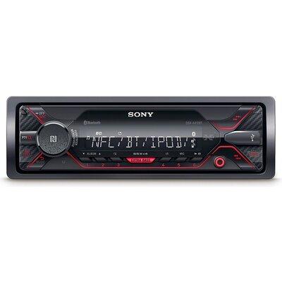 Ресийвър Sony DSX-A410BT In-car Media Receiver with USB, Red illumination