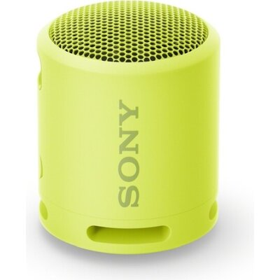 Тонколони Sony SRS-XB13 Portable Wireless Speaker with Bluetooth, lemon yellow