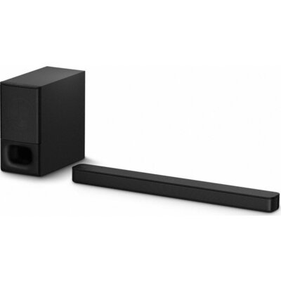 Аудио система Sony HT-S350, 320W 2.1 channel Soundbar for TV with Bluetooth, black