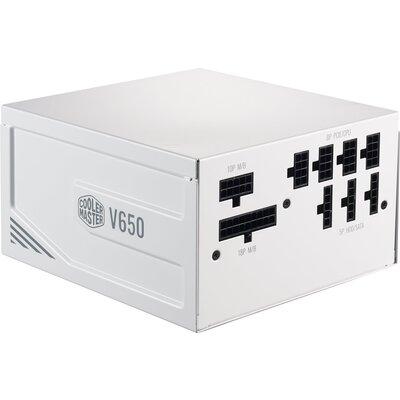 Захранващ блок Cooler Master V650 Gold V2 White Edition, Fully Modular, 650W 80+ Gold