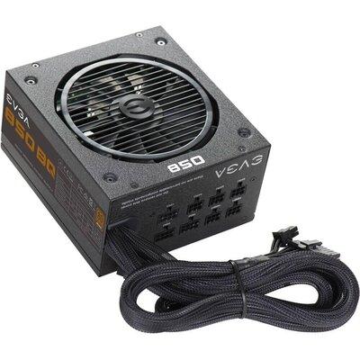 Захранващ блок EVGA 850 BQ, 80+ BRONZE 850W, Semi Modular