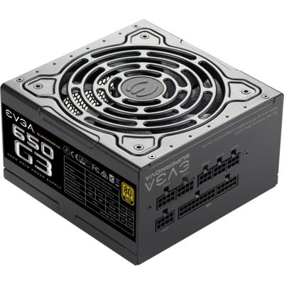 Захранващ блок EVGA SuperNOVA 650 G3 80+ Gold, 650W, Full Modular