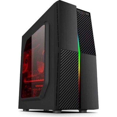 Кутия Estillo 1609 RGB Gaming ATX USB 2.0