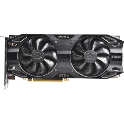Видео карта EVGA GeForce RTX 2070 SUPER BLACK GAMING 8GB GDDR6 - 08G-P4-3071-KR