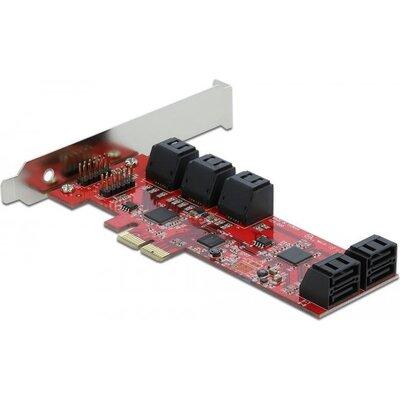 Контролер Delock SATA PCI Express Card - 10 ports