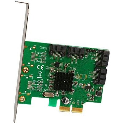 Контролер Estillo SATA PCI Express Card - 4 ports