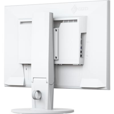 Монитор EIZO FlexScan EV2450, IPS, 23.8 inch, Wide, Full HD, D-Sub, DVI-D, HDMI, DisplayPort, Бял