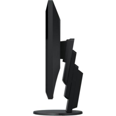 Монитор EIZO FlexScan EcoView Ultra-Slim EV2456-BK, IPS, 24.1 inch, Wide, WUXGA, D-Sub, DVI-D, HDMI, DisplayPort, Черен - FlexSc