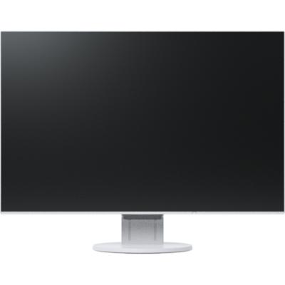 Монитор EIZO FlexScan EcoView Ultra-Slim EV2456-BK, IPS, 24.1 inch, Wide, WUXGA, D-Sub, DVI-D, HDMI, DisplayPort, Бял
