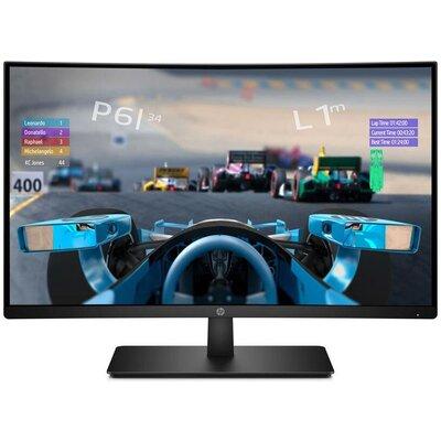 "Монитор HP 27x Gaming - 27"" Curved  FHD (1920x1080), 120Hz, VA, 5ms, AMD FreeSync"