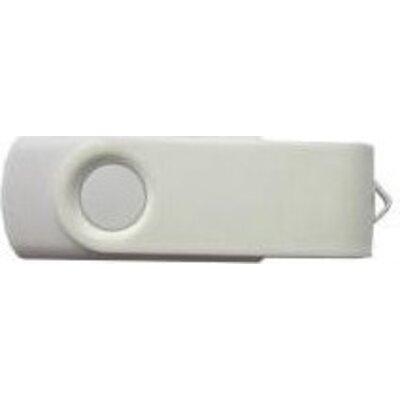 USB памет ESTILLO SD-01 16 GB, Без лого, Бял