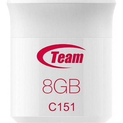 USB памет Team Group C151, 8GB, USB 2.0, Червен