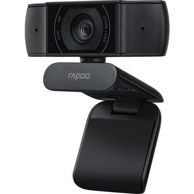 Уеб камера Rapoo XW170, микрофон, HD 720p, 30 fps, Черен