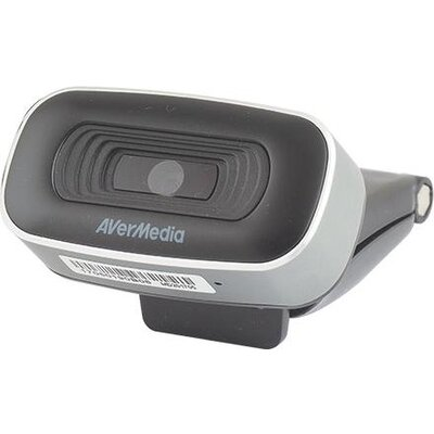 Уеб камера с микрофон AverMedia PW310, 1080p, USB 2.0, Черна