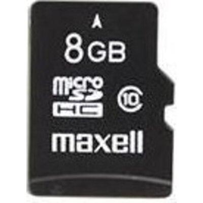 Карта памет Maxell micro SDHC, 8GB, Class 10  BULK