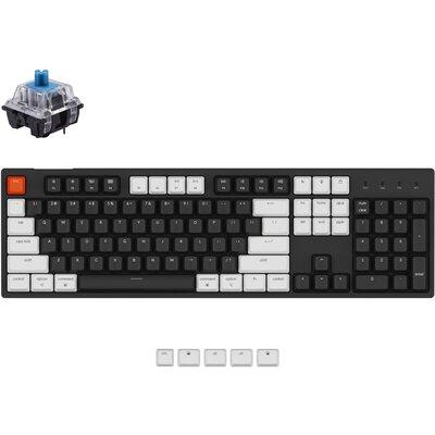 Геймърска Механична клавиатура Keychron C2 Full-Size Keychron Blue Switch No LED Keychron Blue Switch ABS