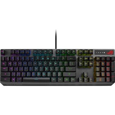 Геймърска механична клавиатура Asus ROG Strix Scope RX RED Optical Mechanical Switches