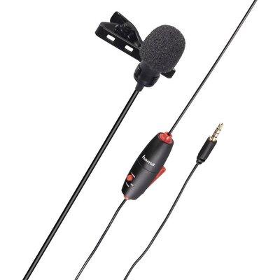 Микрофон за ревер HAMA Smart, 3.5мм, Черен