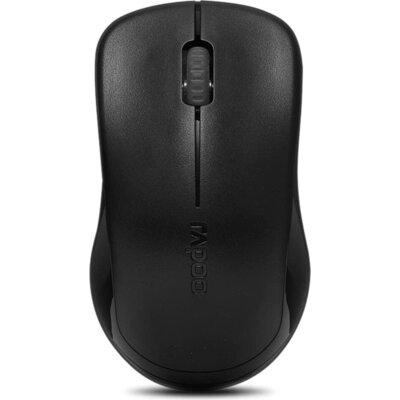 Безжична оптична мишка RAPOO 1620, 2.4 GHz, Черен